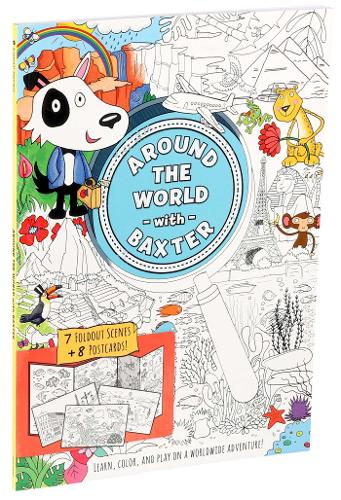 Around the World with Baxter (Paperback)