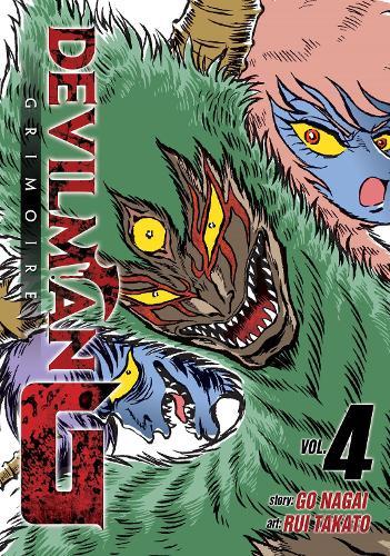 Devilman Grimoire Vol. 4 - Devilman G (Paperback)
