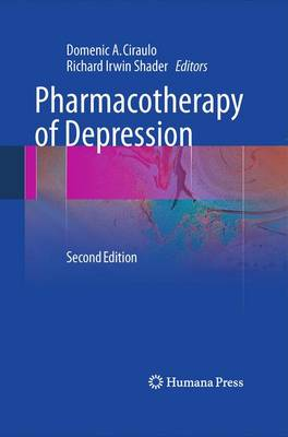 Pharmacotherapy of Depression (Paperback)