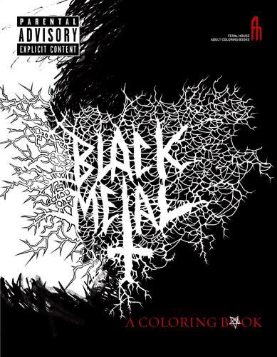 Black Metal: A Coloring Book (Paperback)