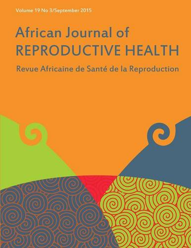 African Journal of Reproductive Health: Vol.19, No.3 September 2015 (Paperback)