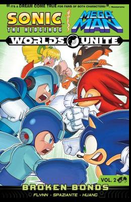 Sonic / Mega Man: Worlds Unite 2: Broken Bonds (Paperback)