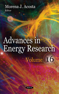Advances in Energy Research: Volume 16 (Hardback)