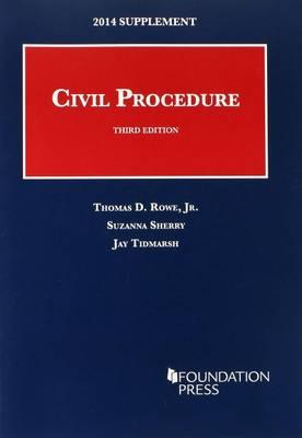 Civil Procedure 2014 - University Casebook Series (Paperback)