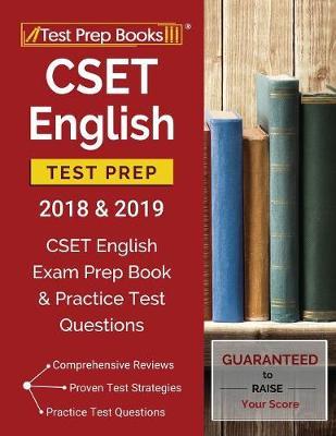 CSET English Test Prep 2018 & 2019: CSET English Exam Prep Book & Practice Test Questions (Paperback)