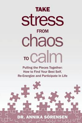 Take Stress from Chaos to Calm: Pulling the Pieces Together: How to Find Your Best Self, Re-Energize and Participate in Life (Paperback)