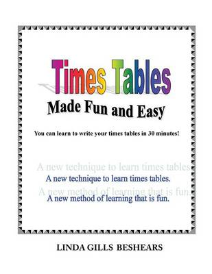 Times Tables Made Fun and Easy (Paperback)