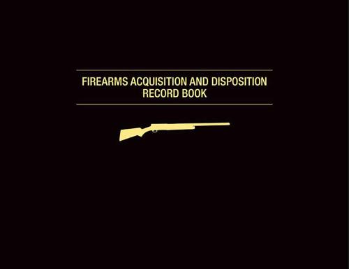 Firearms Acquisition and Disposition Record Book (Spiral bound)