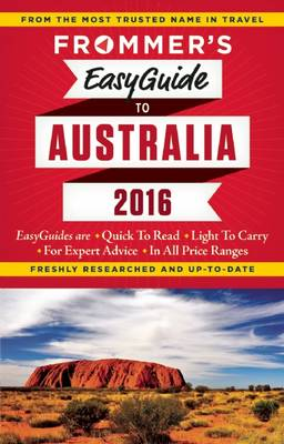 Frommer's EasyGuide to Australia 2016 (Paperback)