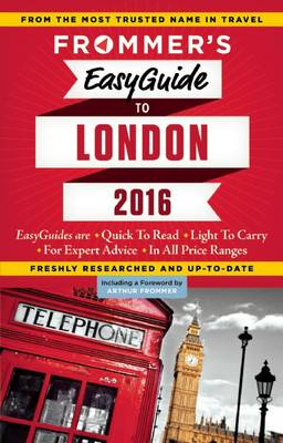 Frommer's EasyGuide to London 2016 (Paperback)