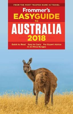 Frommer's EasyGuide to Australia 2018 (Paperback)