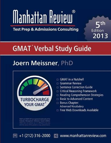 Manhattan Review GMAT Verbal Study Guide [5th Edition] (Paperback)