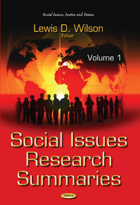 Social Issues Research Summaries: Volume 1 (Hardback)