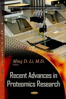 Recent Advances in Proteomics Research (Hardback)