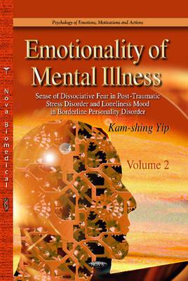 Emotionality of Mental Illness: 2 Volume Set (Hardback)