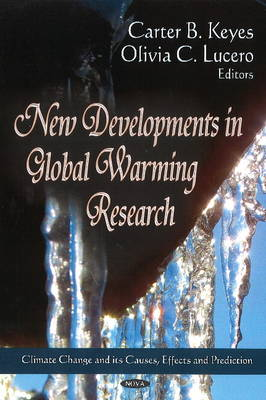 New Developments in Global Warming Research (Hardback)