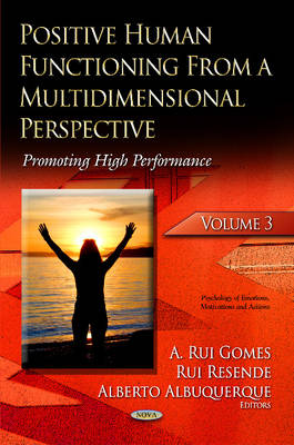 Positive Human Functioning from a Multidimensional Perspective: Volume 3: Promoting High Performance (Hardback)