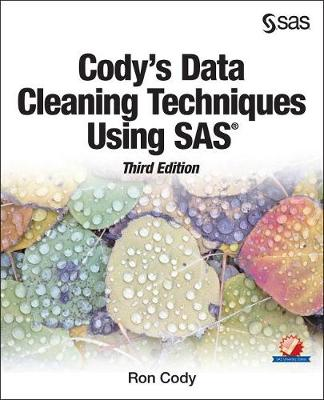 Cody's Data Cleaning Techniques Using SAS, Third Edition (Paperback)