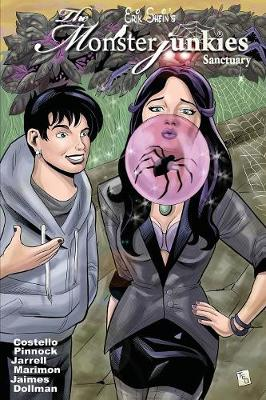The Monsterjunkies: Sanctuary: Black & White Graphic Novel - Monsterjunkies 2 (Paperback)