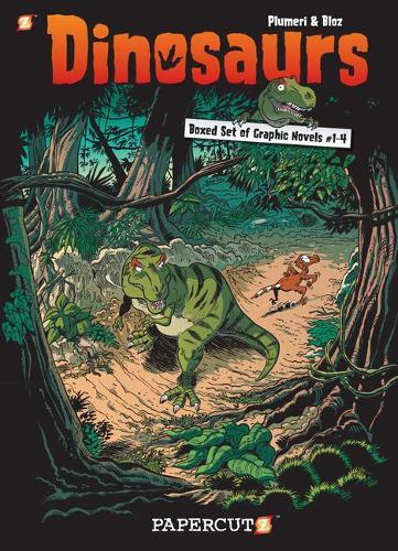 Dinosaurs Graphic Novels Boxed Set: Vol 1 - 4
