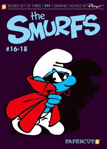 Smurfs Graphic Novels Boxed Set: Vol. #16-18, The (Paperback)