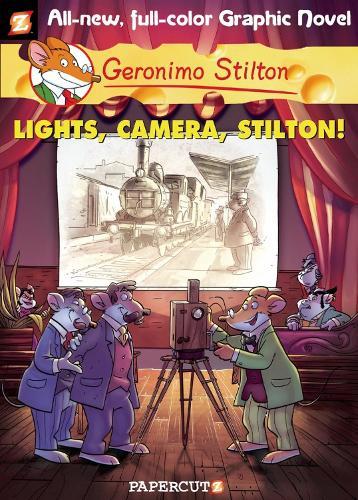 Geronimo Stilton 16: Lights! Camera! Stilton! - Geronimo Stilton (Hardback)