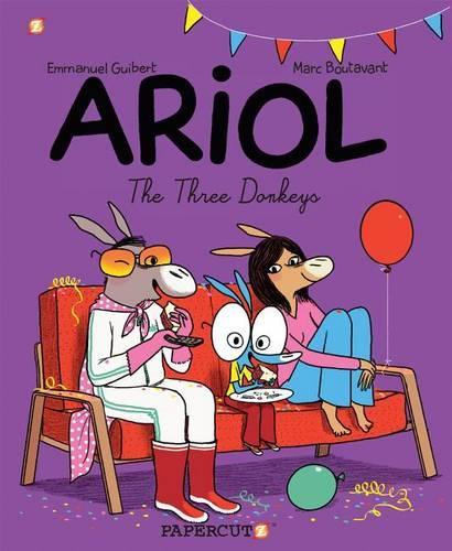 The Three Donkeys: Ariol #8 (Paperback)