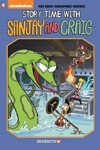 Sanjay and Craig #3: 'Story Time with Sanjay and Craig' (Hardback)