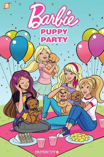 Barbie Puppies #1: Puppy Party (Hardback)
