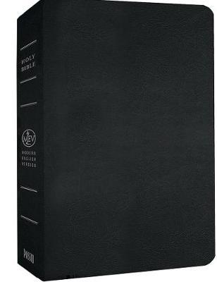 Giant Print Bible-Mev (Leather / fine binding)