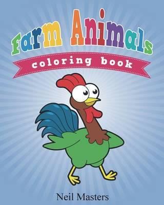 Farm Animals Coloring Book (Paperback)