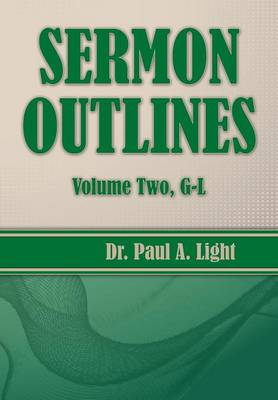 Sermon Outlines, Volume Two G-L (Paperback)
