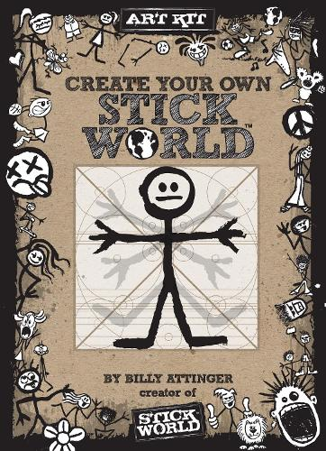 Create Your Own Stick World Kit: Includes technique book, pens,  and 80 page drawing journal! - Stick World