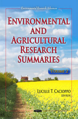 Environmental & Agricultural Research Summaries: Volume 2 (Hardback)