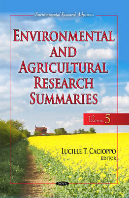 Environmental & Agricultural Research Summaries: Volume 5 (Hardback)