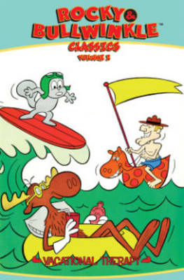 Rocky & Bullwinkle Classics Volume 2 Vacational Therapy (Paperback)