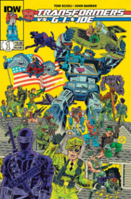 Transformers Vs G.I. Joe Volume 1 (Paperback)