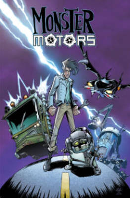 Monster Motors (Paperback)