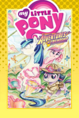 My Little Pony Adventures In Friendship Volume 5 (Hardback)