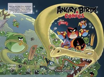 Angry Birds Comics Volume 6 Wing It (Hardback)