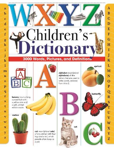 Children's Dictionary: 3,000 Words, Pictures, and Definitions (Hardback)