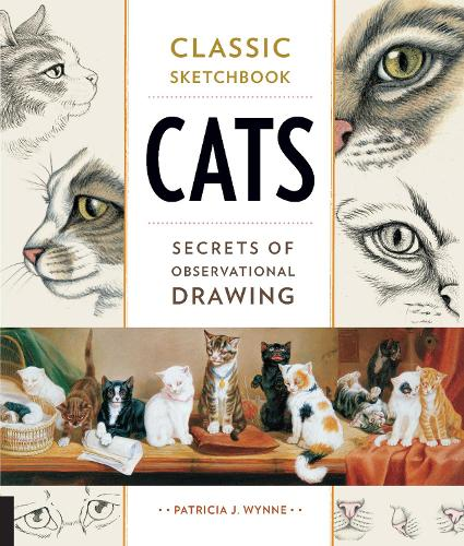 Classic Sketchbook: Cats: Secrets of Observational Drawing - Classic Sketchbook (Paperback)
