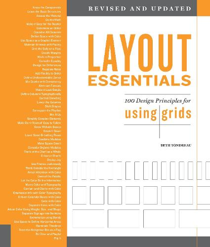 Layout Essentials Revised and Updated: 100 Design Principles for Using Grids (Paperback)
