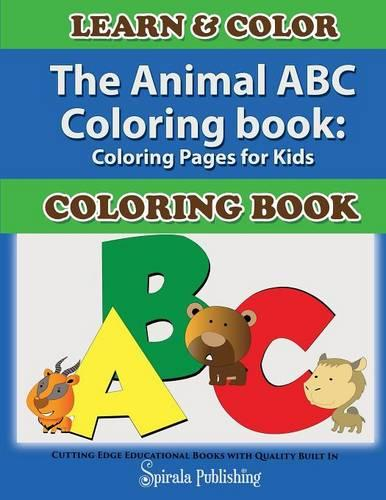 The Animal ABC Coloring Book: Coloring Pages for Kids (Paperback)