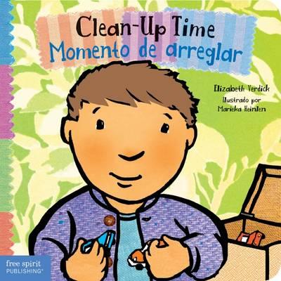 Clean-Up Time / Momento de Arreglar - Toddler Tools (Board book)