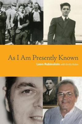 As I Am Presently Known (Paperback)