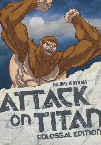 Attack On Titan: Colossal Edition 4 (Paperback)