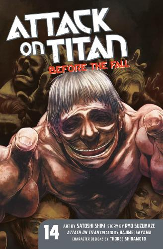 Attack On Titan: Before The Fall 14 (Paperback)