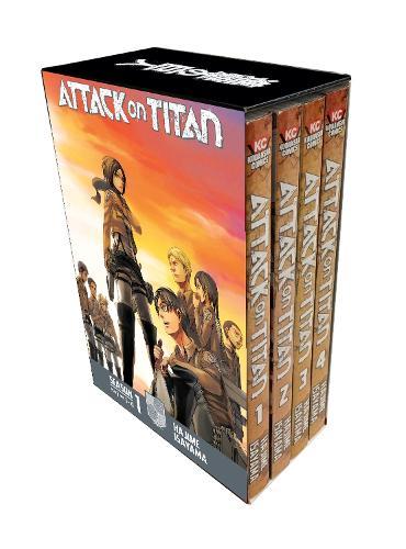Attack On Titan Season 1 Part 1 Manga Box Set (Paperback)