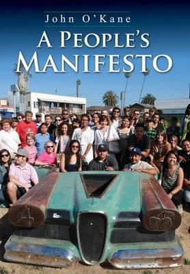 A People's Manifesto (Hardback)